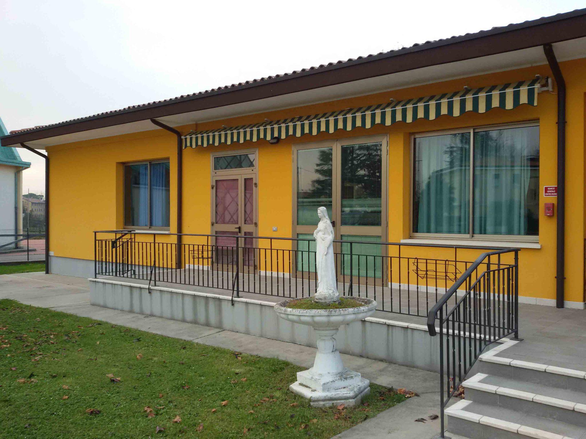 Foto frontale centro diurno San Giuseppe Lavoratore