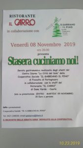 serata di beneficienza